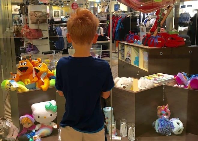 AidaBella-Kreuzfahrt als Single mit Kind - Shop