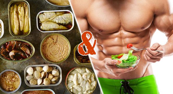 Консервы в диете бодибилдинга
