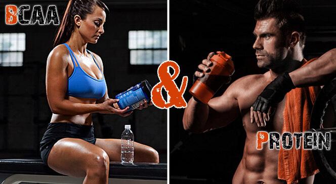 Протеин и BCAA для роста мышц