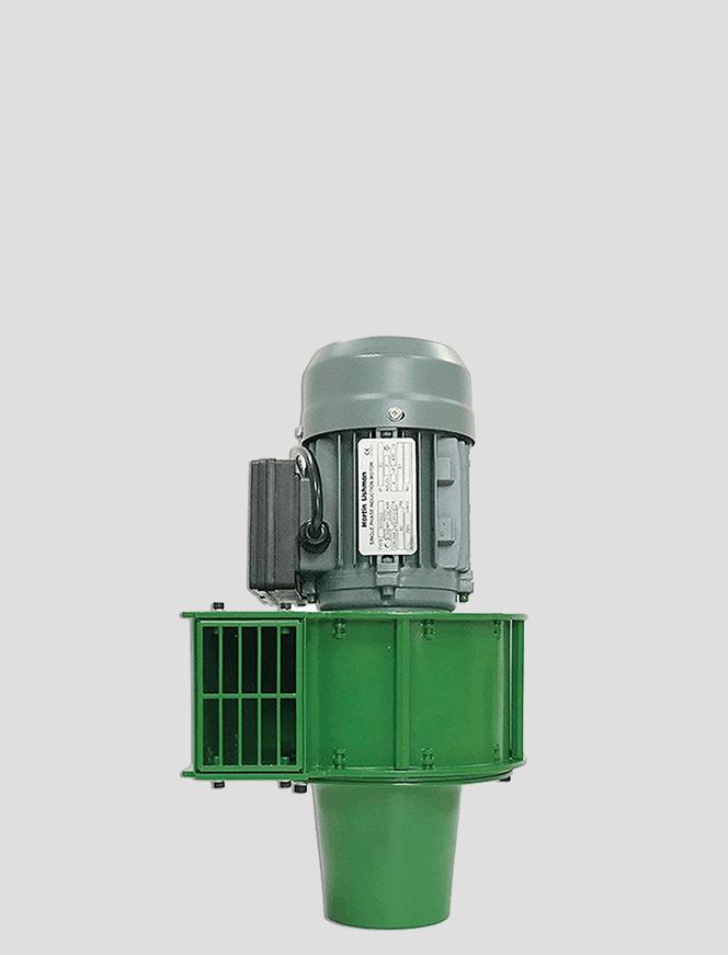 Martin Lishman FTDEB Ventilador de refrigeração de safra agrícola verde