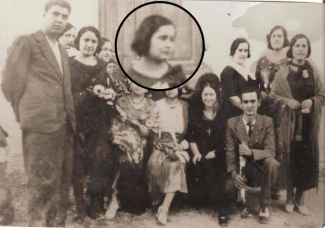 fotos antiguas de Oria oretano Joaquín Masegosa Rodriguez, y hermana Pura Masegosa