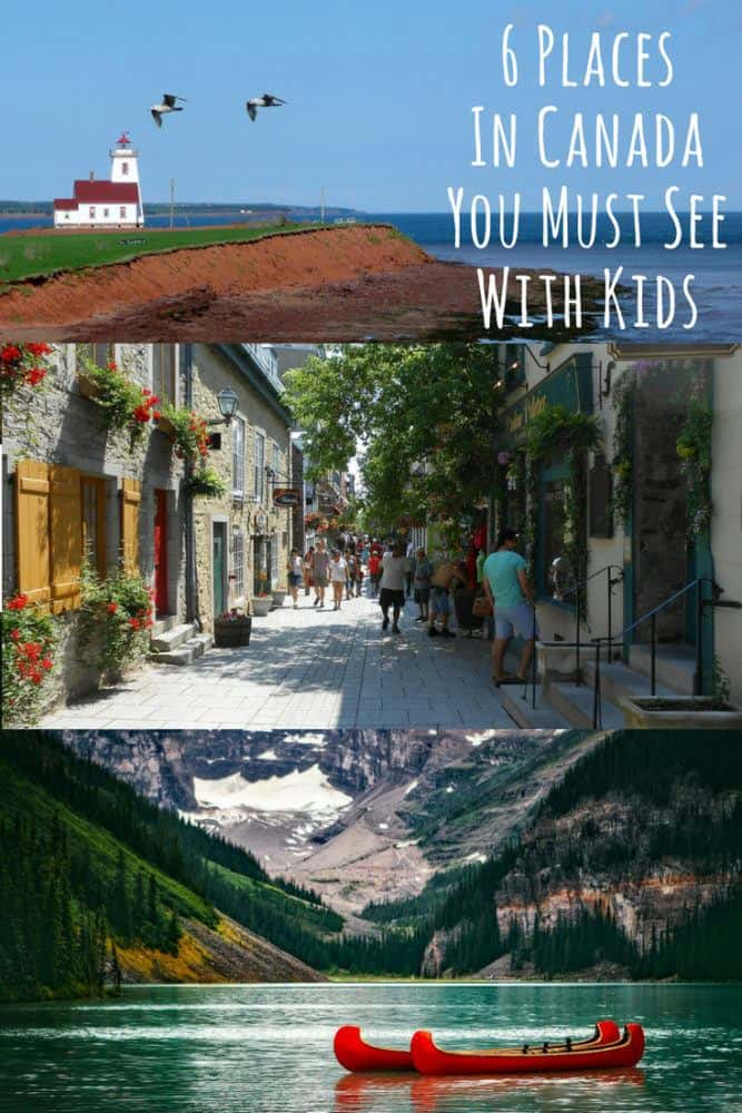 From whistler and alberta to quebec and prince edward island, here are 6 destinations in canada that every family should visit. #canada #vacation #kids #bucketlist