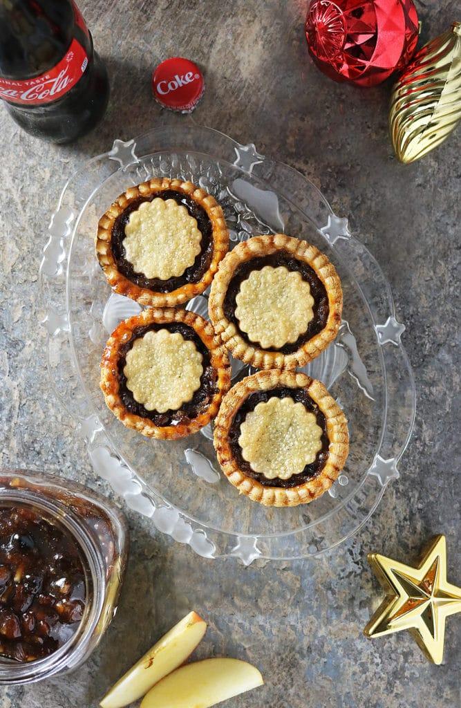 Easy Mincemeat Apple Pies