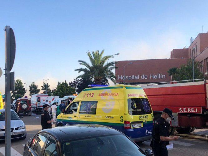Incendio Hospital Hellín