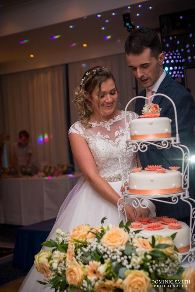 Cake cutting at the Arora Hotel Gatwick