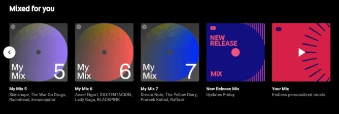 YouTube Music Spotify