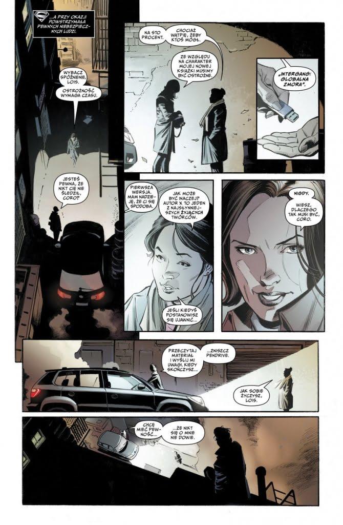 Droga do Odrodzenia. Superman: Lois i Clark przykładowa strona