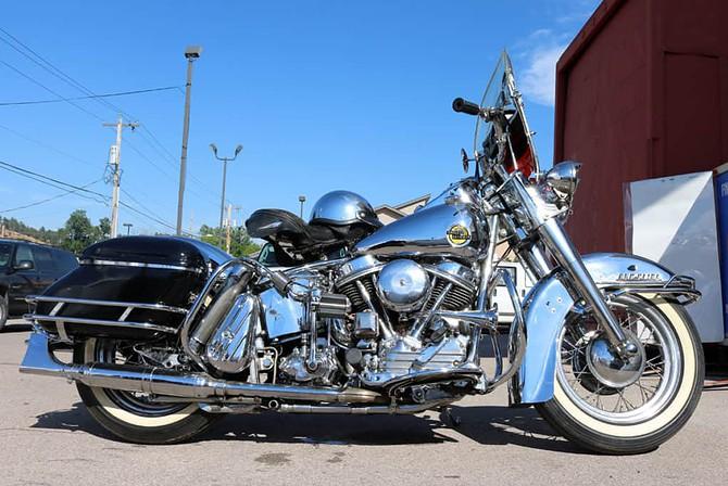 All Chrome Harley-Davidson at Sturgis