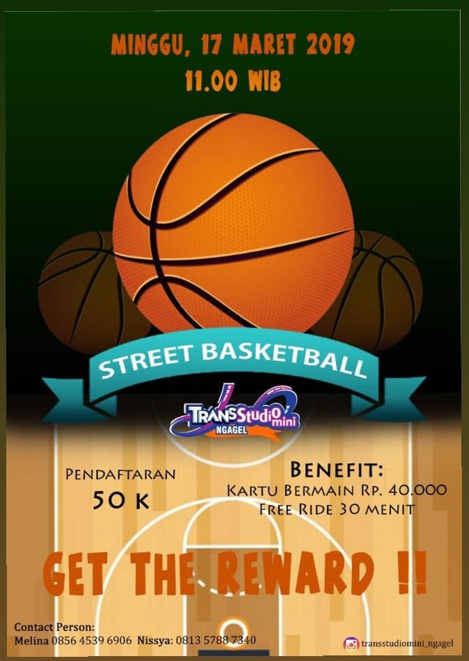 Poster lomba Street Basketball