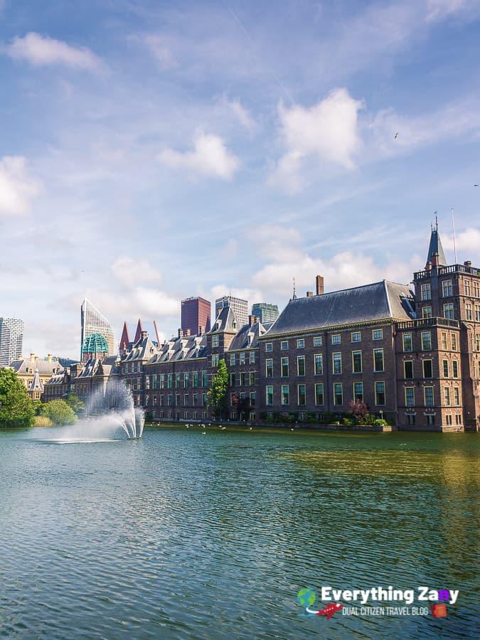 Binnenhof in the Hague Netherlands