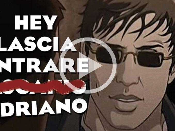 Hey lascia entrare Adriano