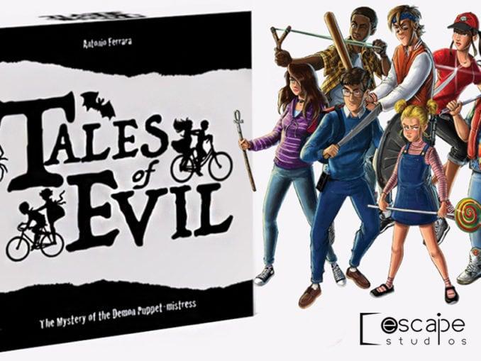 tales of evil gioco da tavolo escape studios