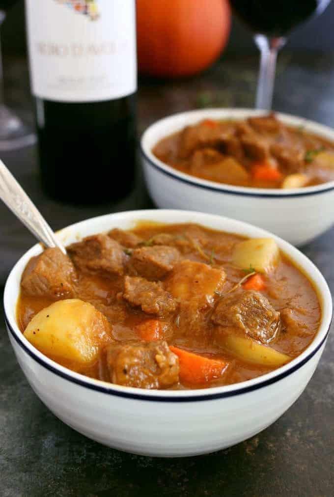 Pumpkin Beef Stew Recipe