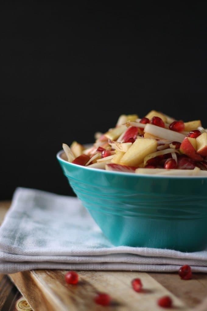 Sweet Endive Salad   www.honeyandbirch.com