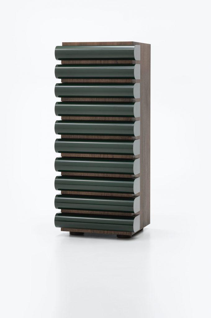 Acerbis Storet | design: Nanda Vigo | © Alberto Strada