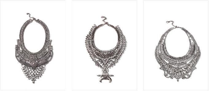 DYLANLEX Statement Necklaces by Drew Ginsburg