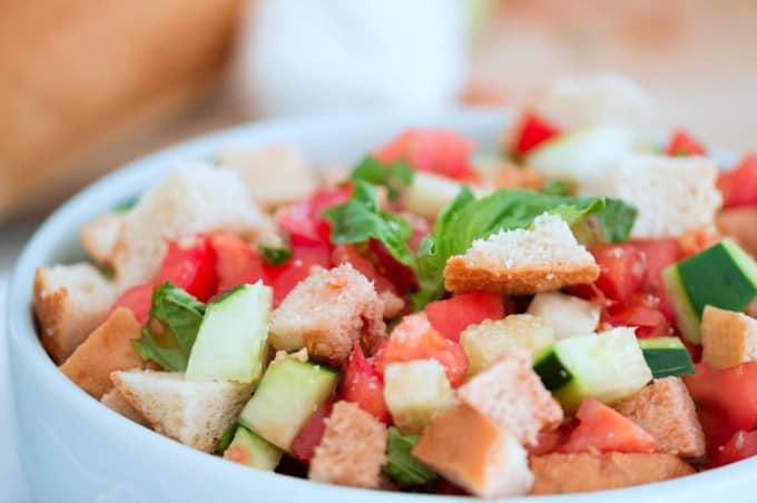 Panzanella Salad Recipe - A fresh salad with a long history