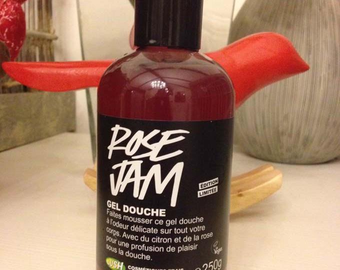 Rose Jam : un gel douche en édition limitée chez Lush