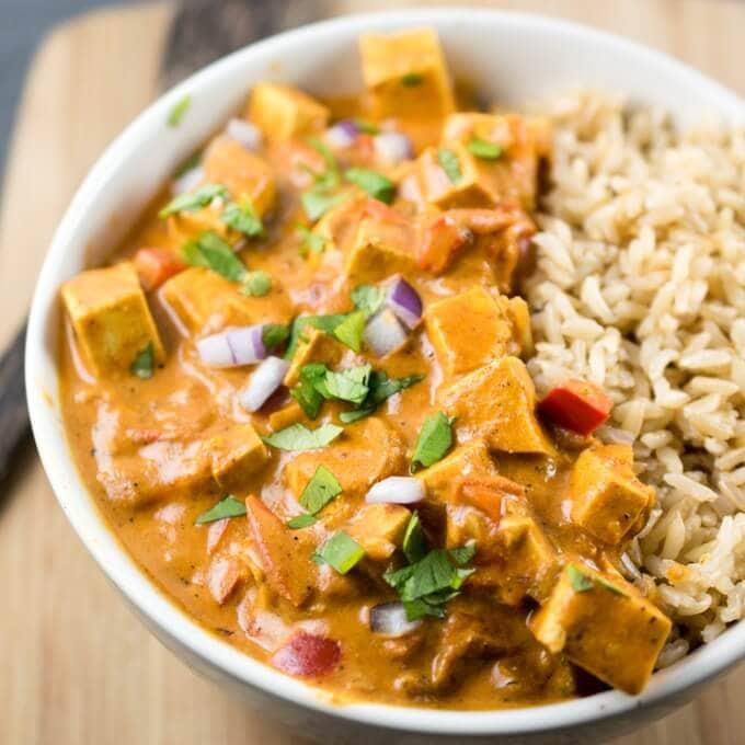 Tofu Tikka Masala Recipe