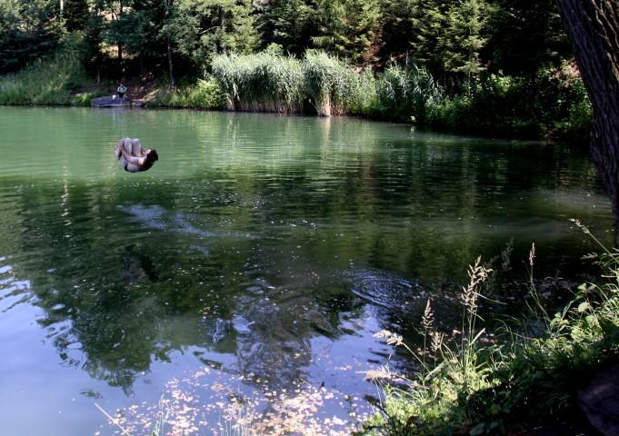 lom u obce Horky,6km od Čáslavi