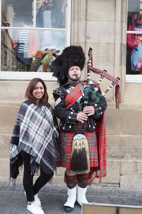 Scottish Kilts and Tartans in Edinburgh