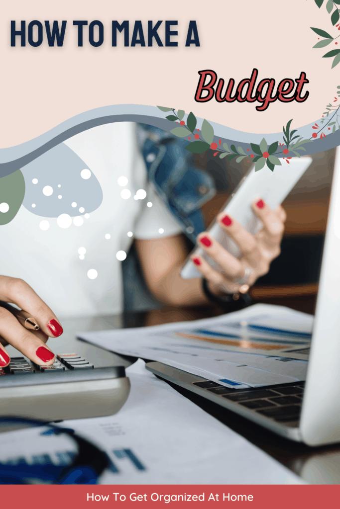how to make a budget