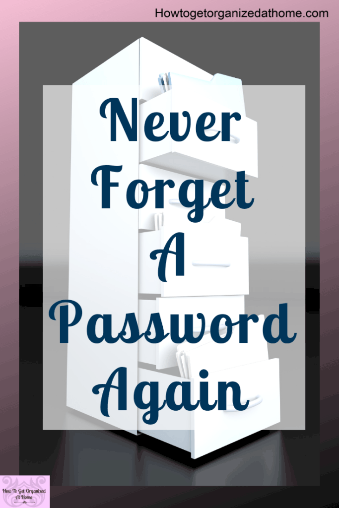 How do you manage your passwords? Password security is important especially with the amount of passwords we need in modern society. #passwords #passwordorganizer