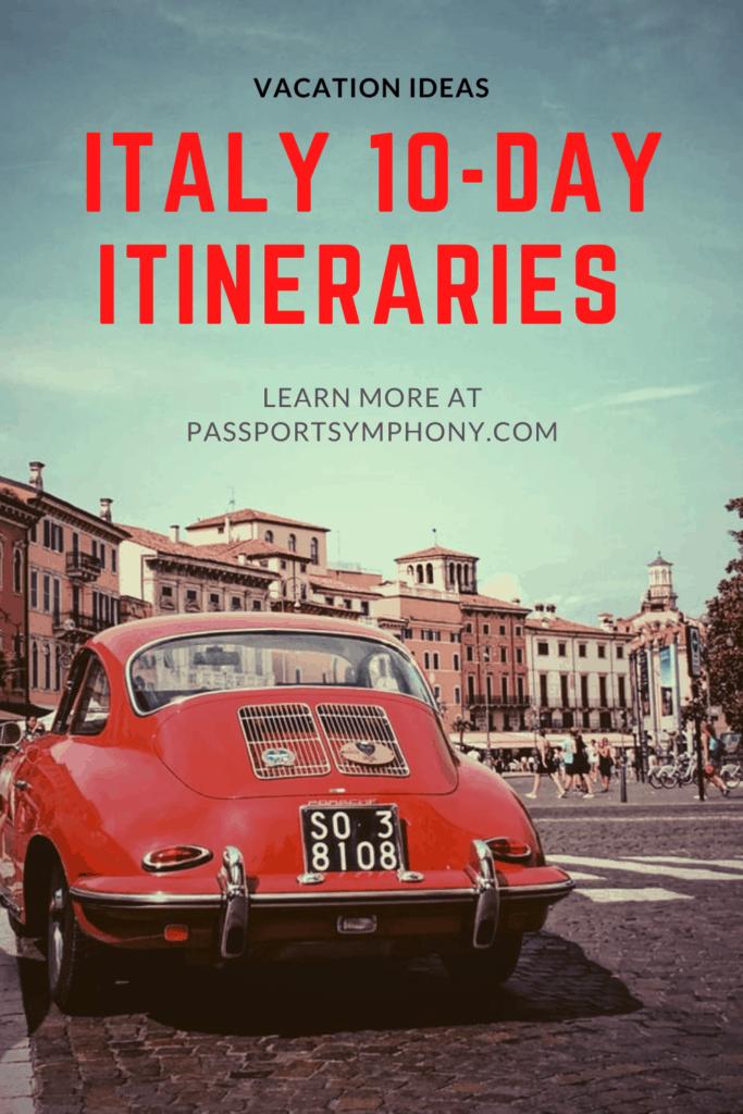 italy 10 day itinerary