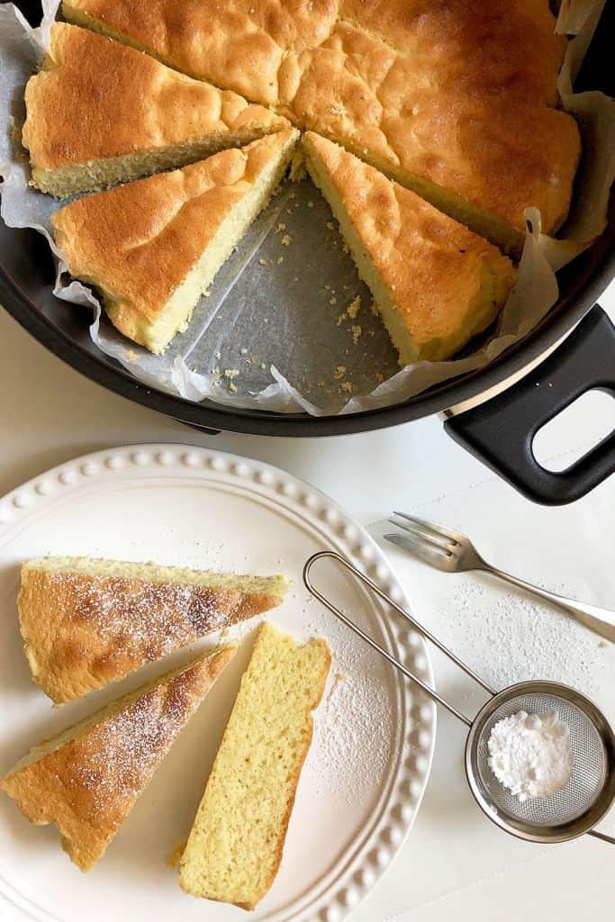 Sponge Cake in Remoska