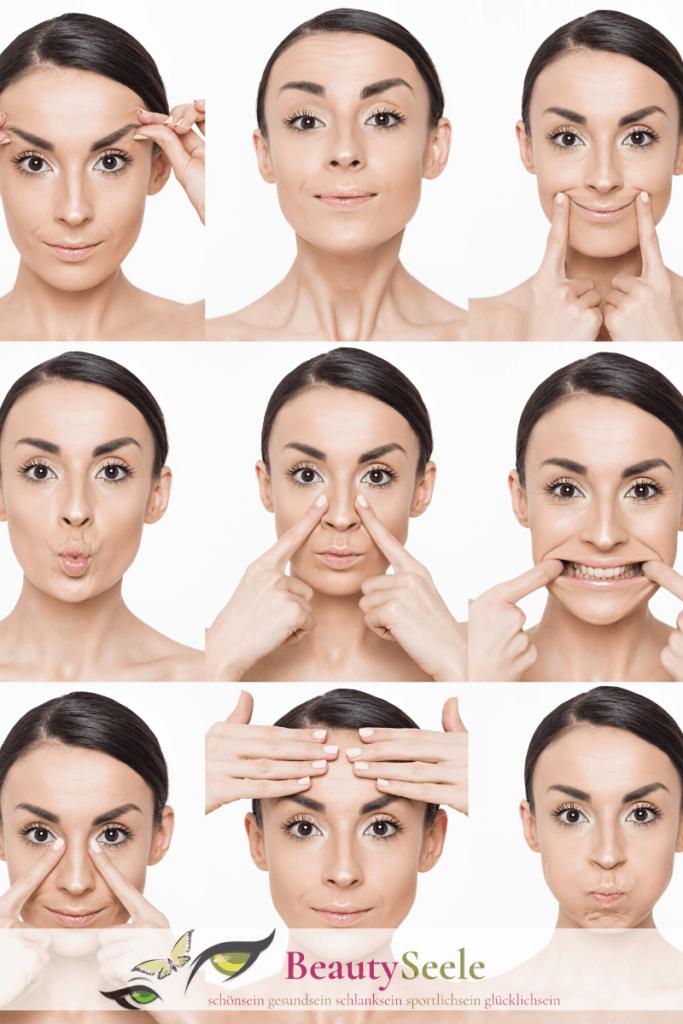 Gesichtsmassage Anleitung für zuhause