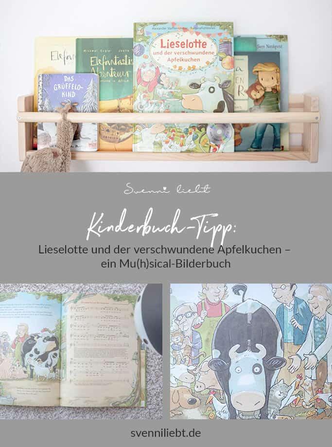 Kinderbuch-Tipp Lieselotte und der verschwundene Apfelkuchen auf Pinterest merken