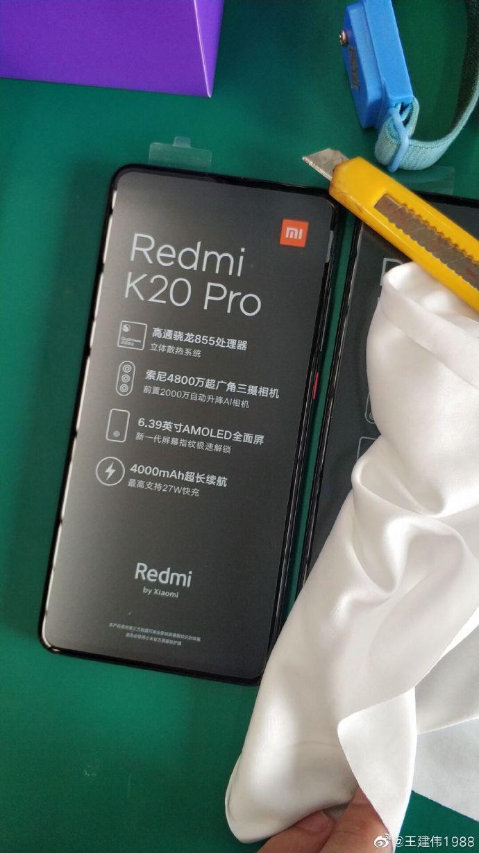 Redmi K20 Pro.