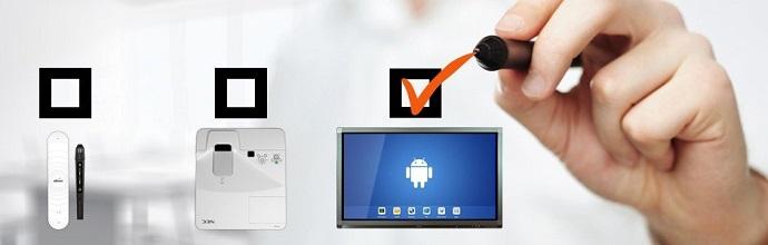 choisir entre un écran interactif et un tbi