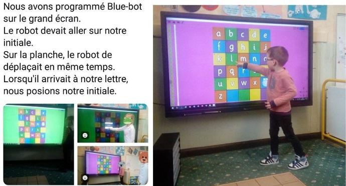 cours programmation sur écran interactif