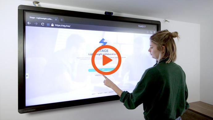 Logiciel pour écran interactif professionnel CleverTouch