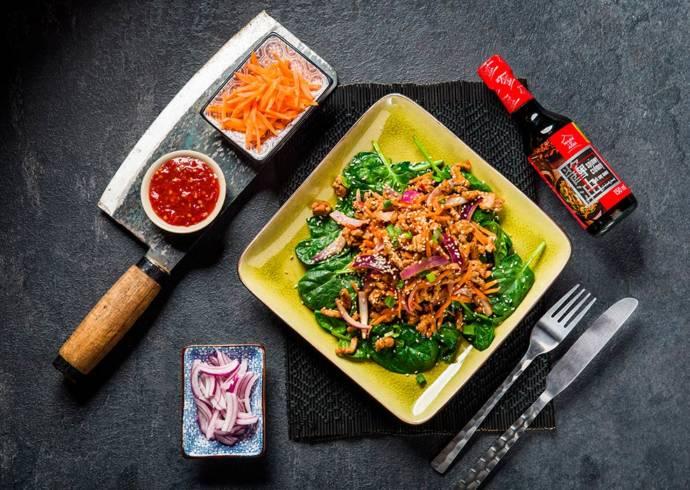 wieprzowina z warzywami na ostro house of asia