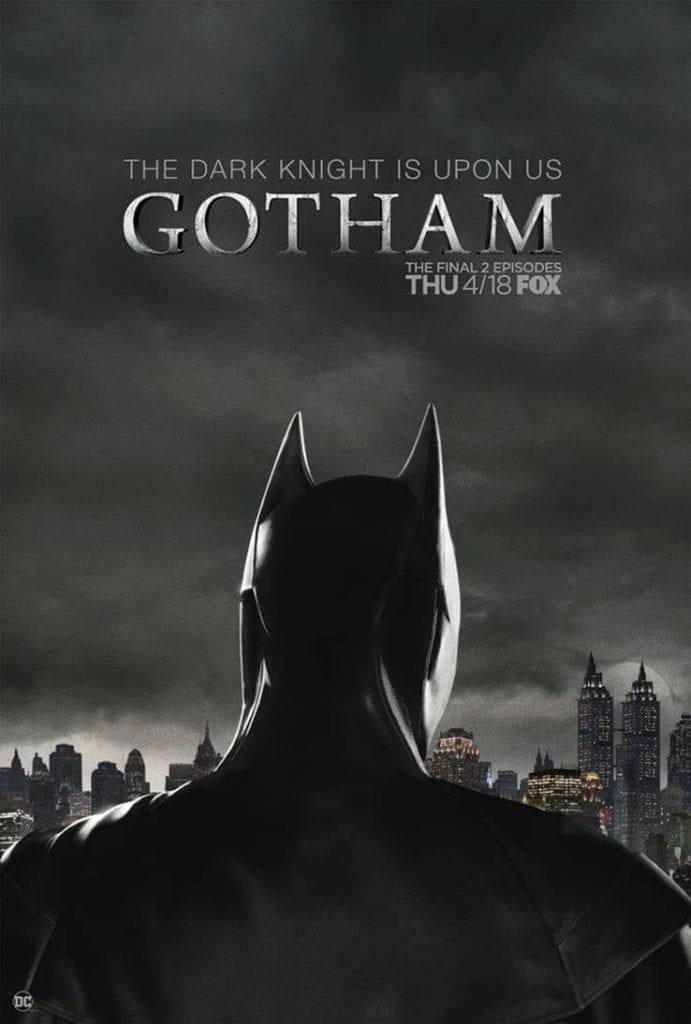 gotham finale poster batman