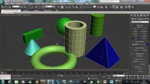 Обзор 3Ds Max примитивы