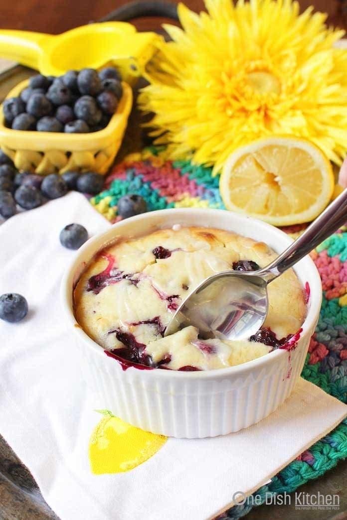 Lemon Blueberry Muffin   One Dish Kitchen