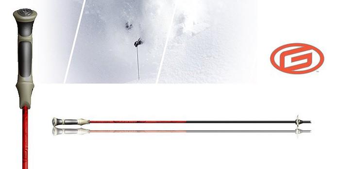 Goode Fire Pure Carbon SuperLite Ski Poles