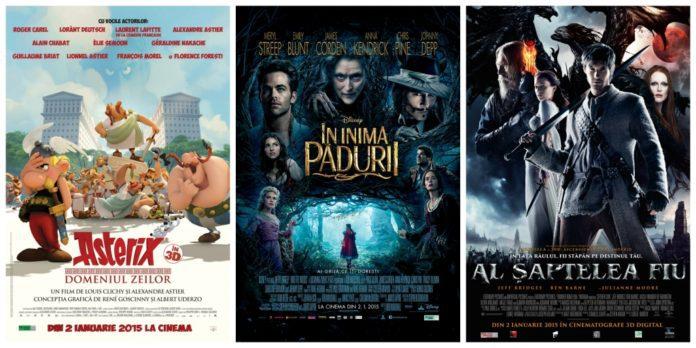 Filmele săptămânii, Filmele săptămânii – din 2 ianuarie în cinematografe