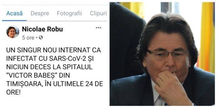 """Niciun deces la Spitalul """"Victor Babes"""" din Timisoara, in ultimele 24 de ore, ci doar... încă unul!"""