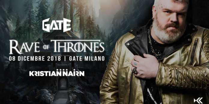 Rave of thrones milano 2018
