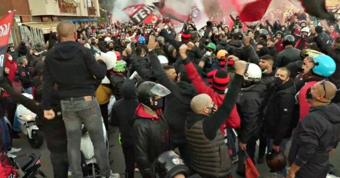 derby milan inter risultato assembramenti