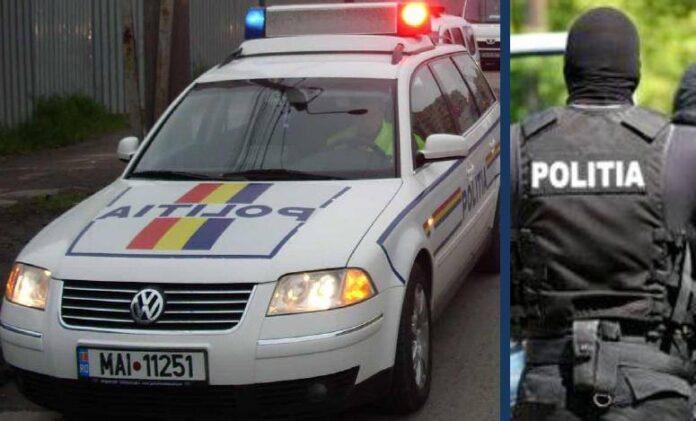 Politia-arestat