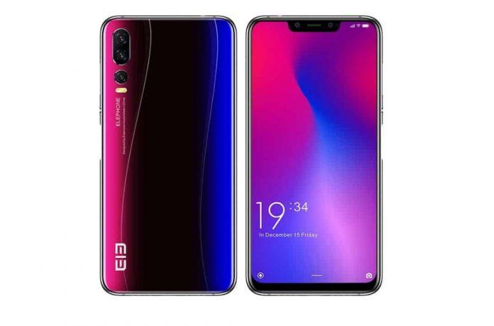 elephone A5 design