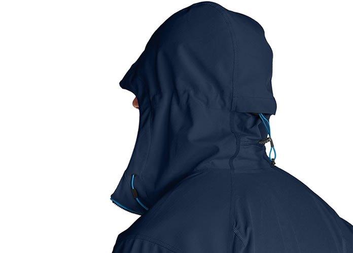 Eddie Bauer First Ascent Sandstone Shield Hooded Jacket