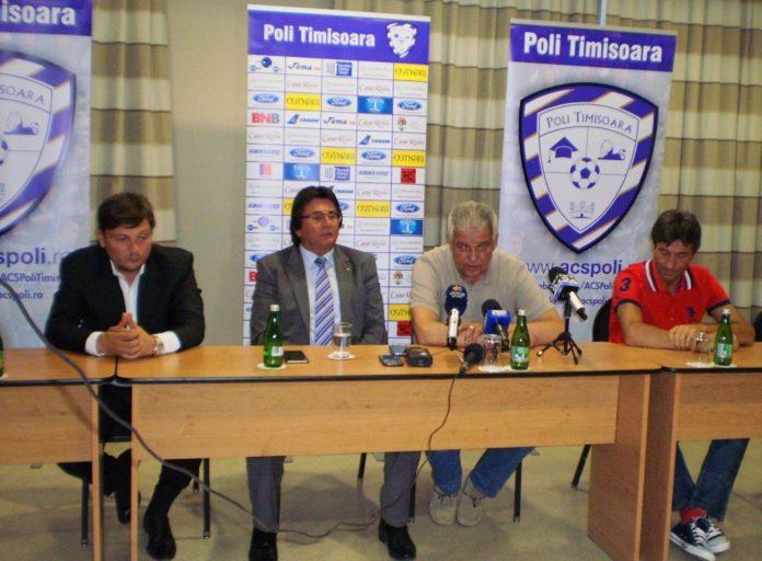 Poli-Timișoara-și-a-prezentat-noul-antrenor-Florin-Marin