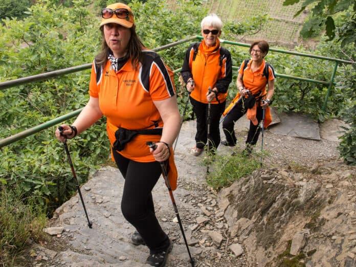 L'activité au Nordic Walking Mamer