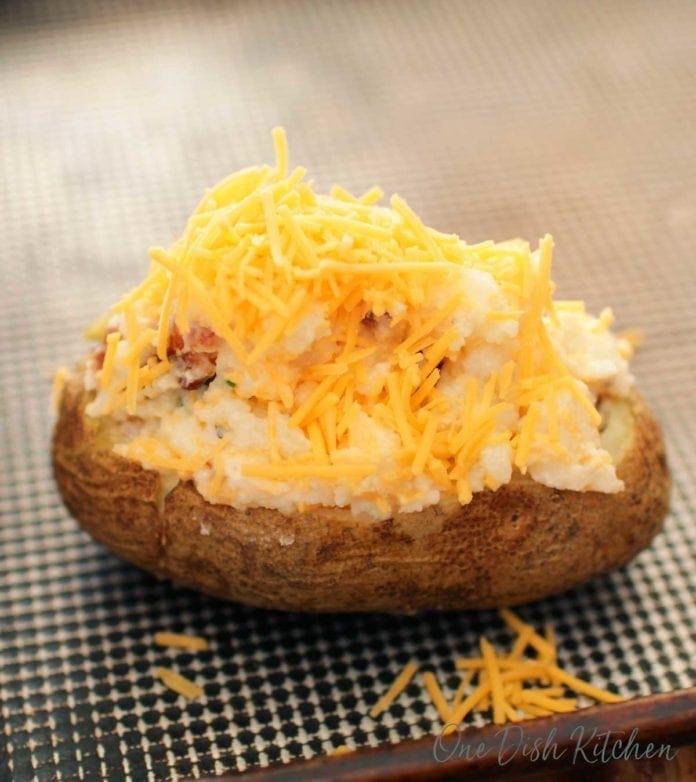 twice baked potato \ one dish kitchen